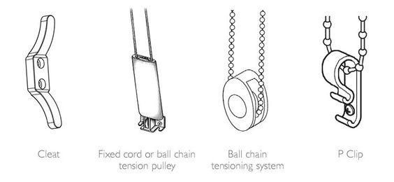 blind cord fixings