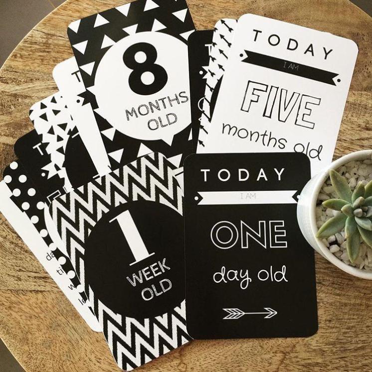 milestone cards vendababycards com au
